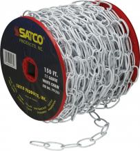 Satco Products Inc. 79/233 - 11 Gauge Chain - 50 yds. (150 ft.) to Reel / 1 Reel to Master 15lbs MAX