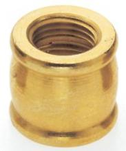 "Satco Products Inc. 90/623 - Brass Couplings 1/2"" Long - 1/4 F x 1/8 F Burnished & Lacquered"